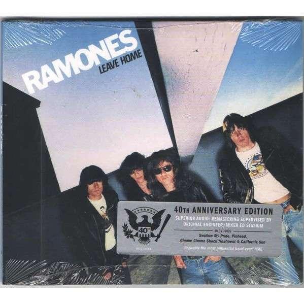 RAMONES LEAVE HOME (digipack / 40 th anniversary edition)