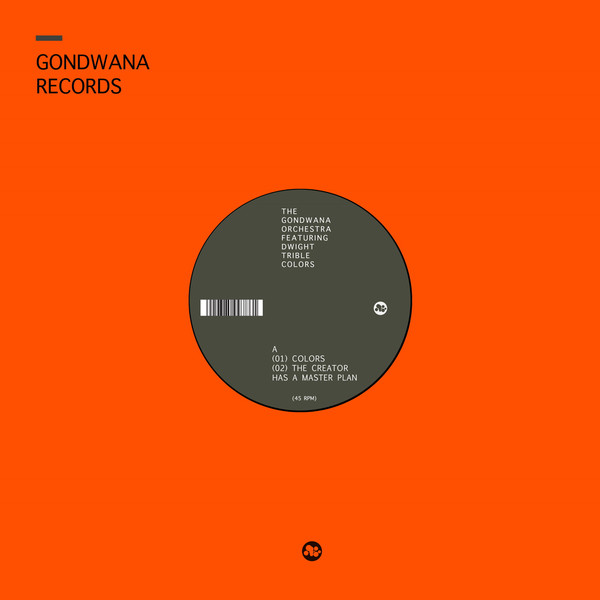 The Gondwana Orchestra Featuring Dwight Trible Colors EP