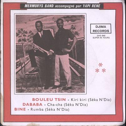 Mermorys Band, Yapi René Bouleu Tsin EP