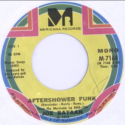 Joe Bataan Aftershower Funk