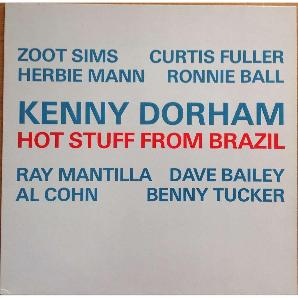 Kenny Dorham Zoot Sims Herbie Mann C Fuller A Cohn Hot Stuff From Brazil