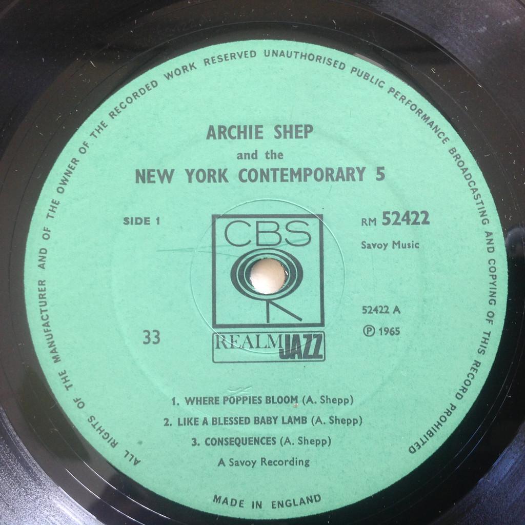 Archie Shepp Bill Dixon Don Cherry John Tchicai .. Archie Shepp & The New York Contemporary Five / Bill Dixon 7-Tette