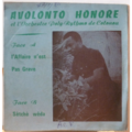 AVOLONTO HONORE & POLY RYTHMO - L'affaire n'est pas grave / Setche weda - 7inch (SP)