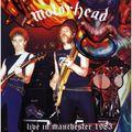 MOTÖRHEAD - Live In Manchester 1983 (lp) Ltd Edit Gatefold Sleeve -E.U - 33T