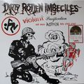 DIRTY ROTTEN IMBECILES / D.R.I. - Violent Pacification And More Rotten Hits 1983-1987 (lp) Ltd Edit Rsd -Italy - 33T