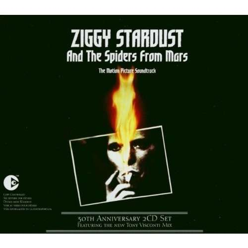 David Bowie Ziggy Stardust And The Spiders From Mars The Motion Picture Soundtrack 30th Anniversary 2CD Edition