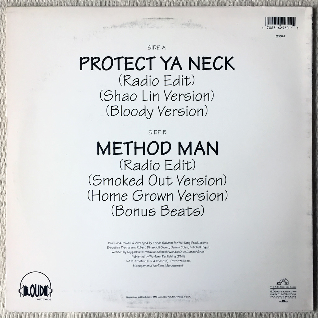 wu-tang clan protect ya neck /method man
