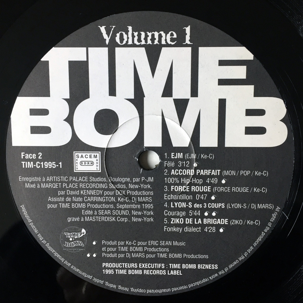 various artists time bomb volume 1