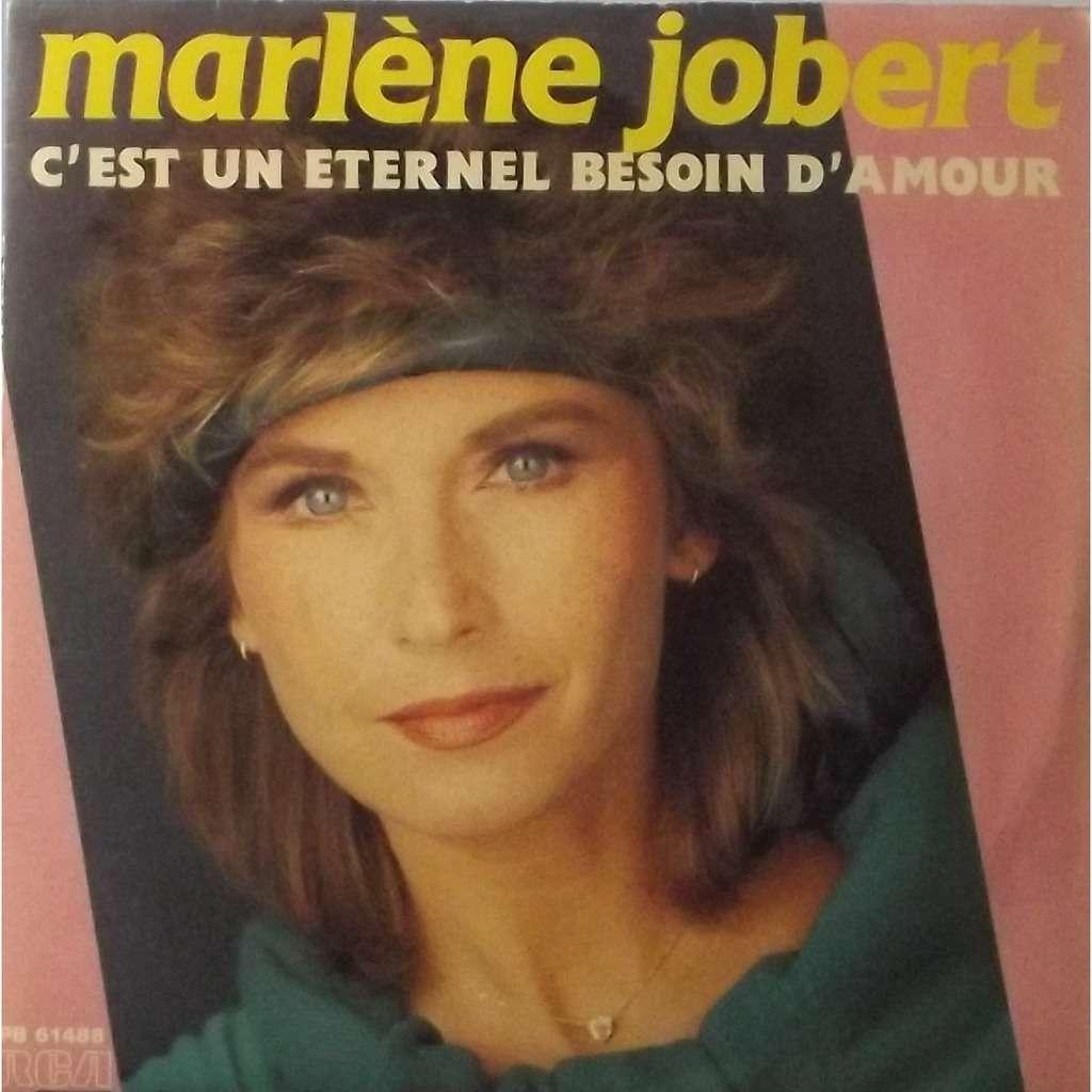 marlene jobert c'est un éternel besoin d'amour / peux pas le dire