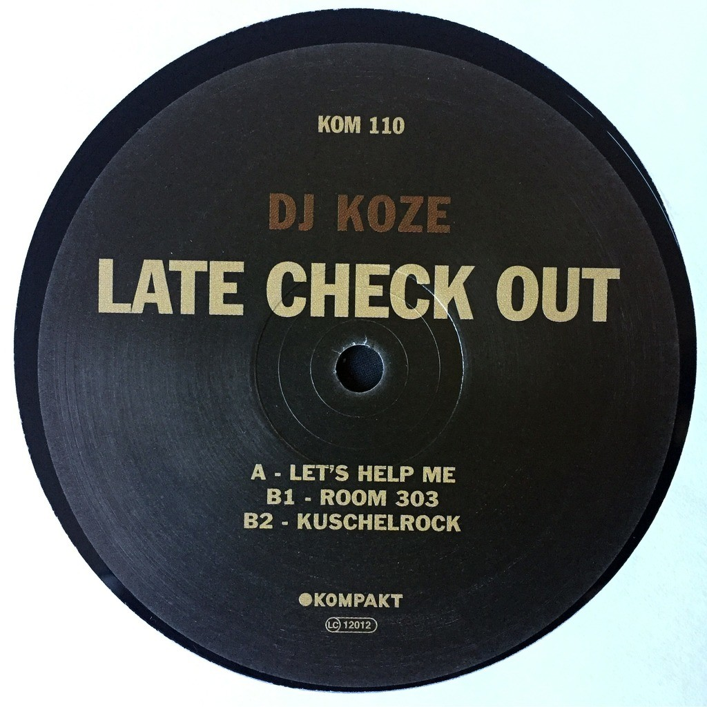 DJ Koze Late Check Out