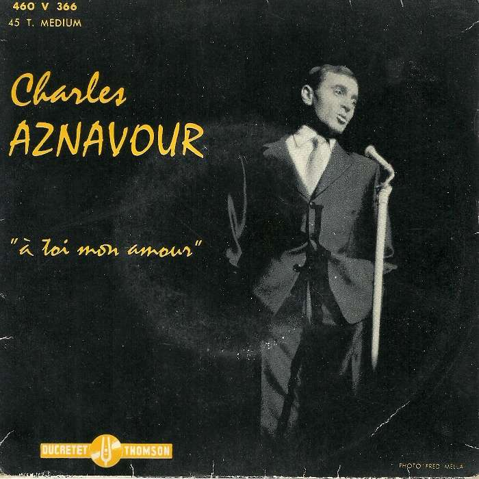 Aznavour Charles A Toi Mon Amour