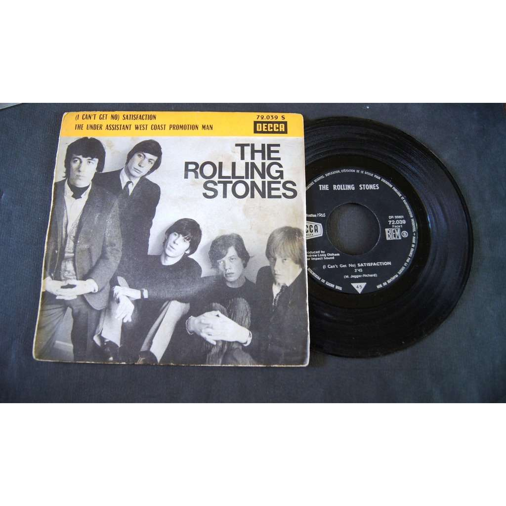 the rolling stones ( I CAN'T GET NO ) SATISFACTION