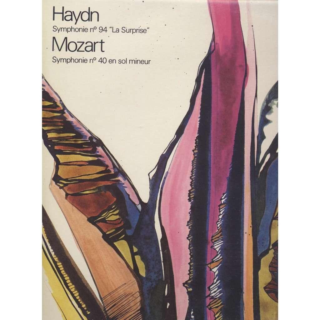 Haendel / Mozat Symphonie N° 94  La Surprise  / Symphonie N° 40 en Sol mineur