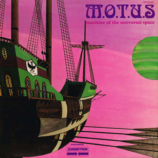 MOTUS / M.O.T.U.S Machine of the universal space (gatefold sleeve - 1972 - French Prog Rock)
