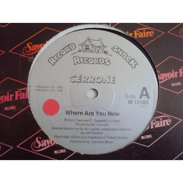 Cerrone Where Are You Now 1983 UK (MAXIBOXLP)