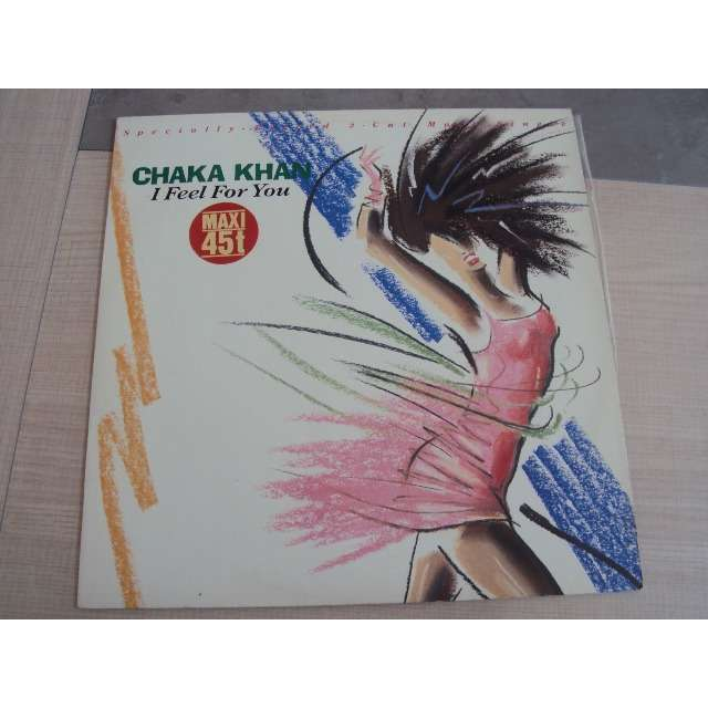 chaka khan I FEEL FOR YOU (REMIX 7'12) 1984 GERMANY (MAXIBOXLP)