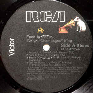 Evelyn Champagne King* - Face To Face (LP, Album Evelyn Champagne King* - Face To Face (LP, Album)