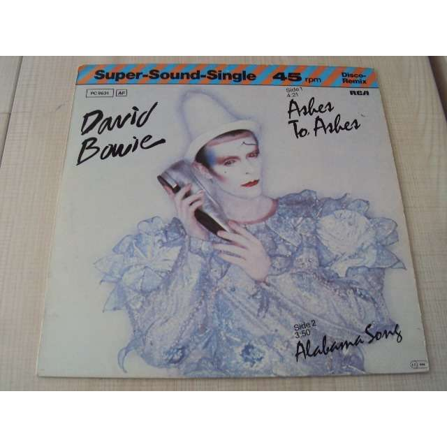 david bowie ashes to ashes 1980 GERMANY (MAXIBOXLP)