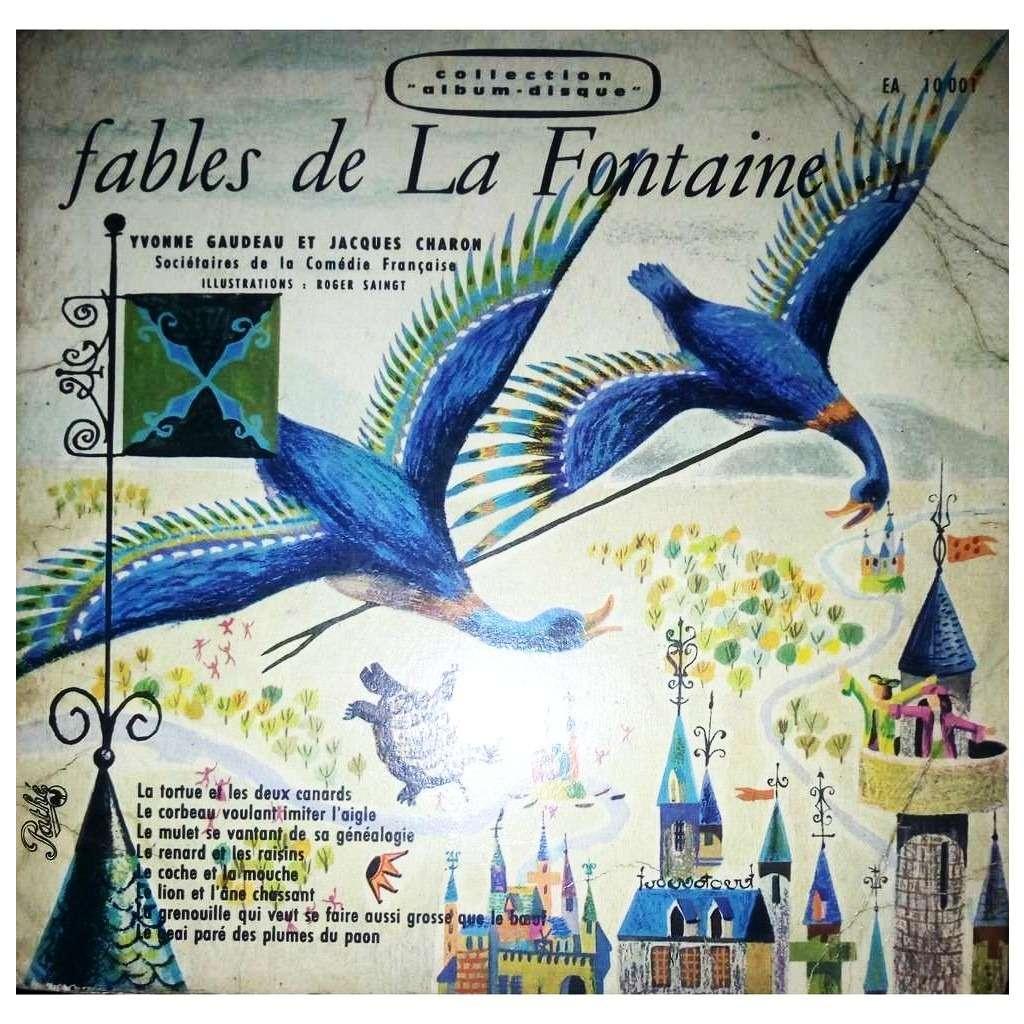 Yvonne Gaudeau Et Jacques Charon Fables de La Fontaine - 1