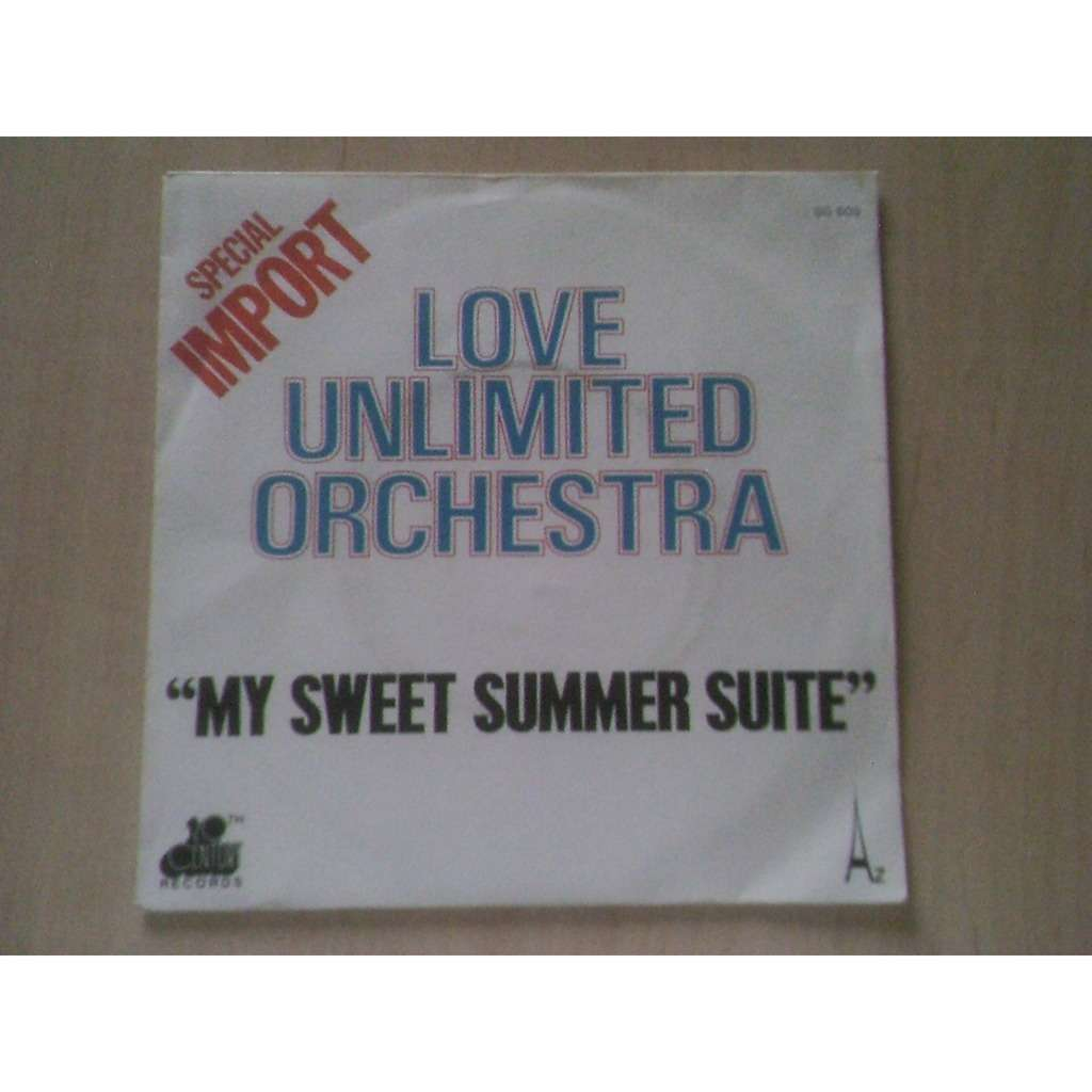 love unilimited orchestra my sweet summer suite / just living it up