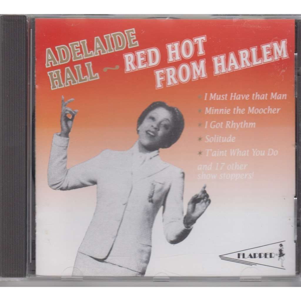 ADELAIDE HALL Red Hot From Harlem CD NEW