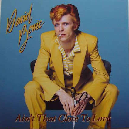 DAVID BOWIE Ain't That Close To Love (The Best Of The Young Americans Sessions) LP WHITE