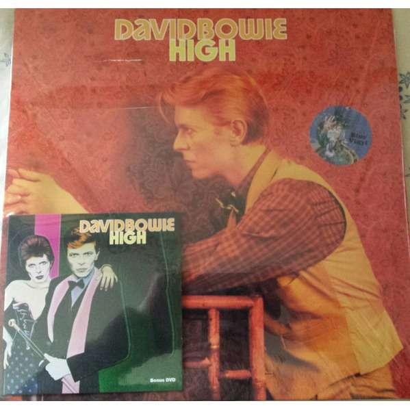 DAVID BOWIE HIGH LP + DVD