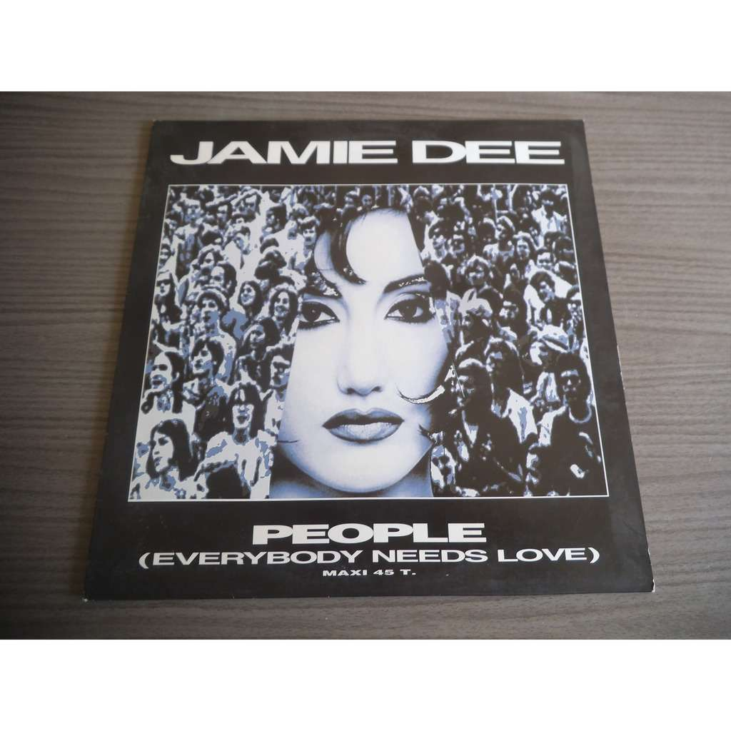 jamie dee PEOPLE ( Everybody needs love ) Club mix/ pop mix