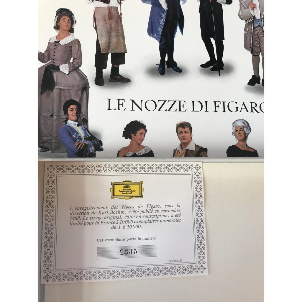 MOZART / KARL BOHM LE NOZZE DI FIGARO