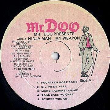 Ninjaman My Weapon
