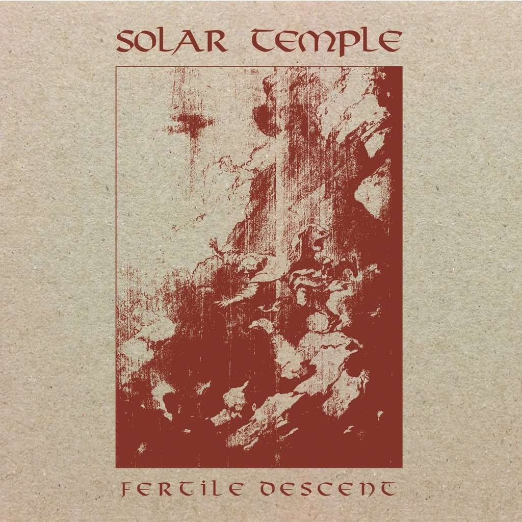 SOLAR TEMPLE Fertile Descent. Black Vinyl