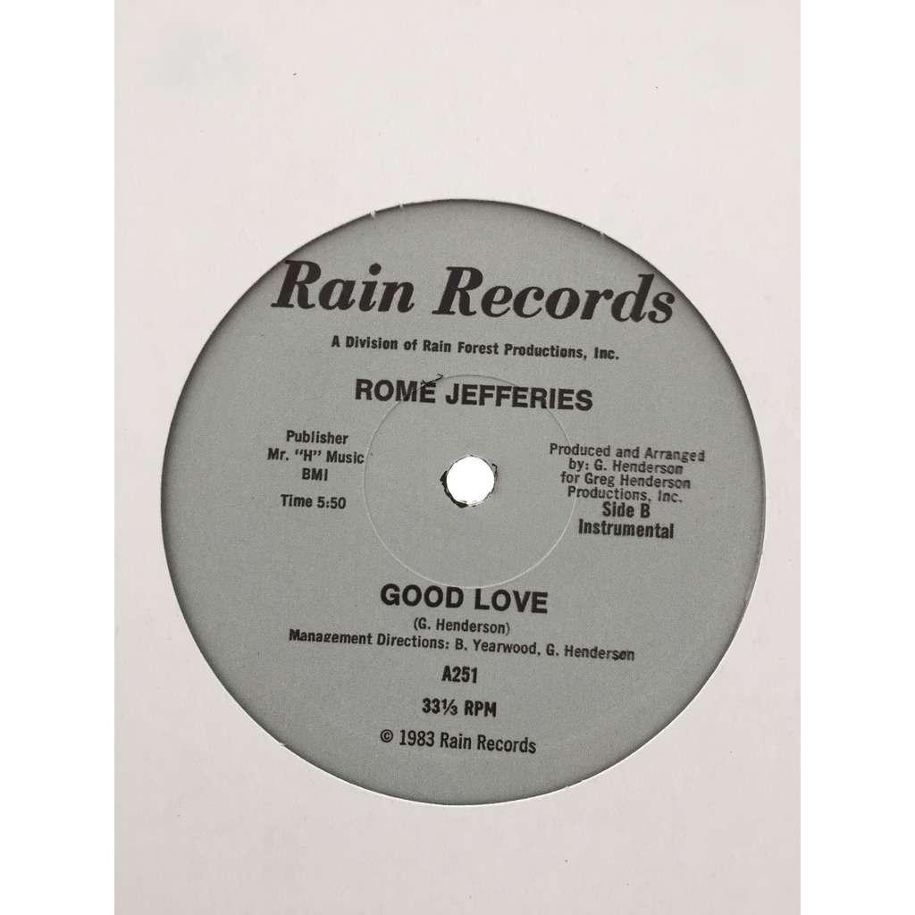 Rome Jefferies – Good Love