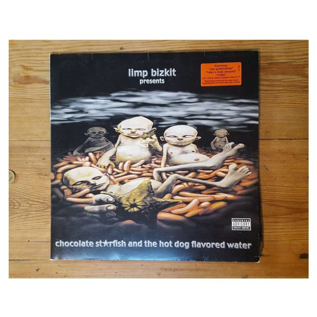 Limp Bizkit Chocolate Starfish and the Hot Dog Flavored Water