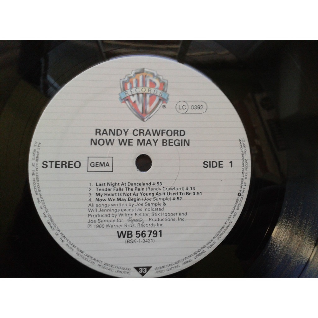 randy crawford now we may begin