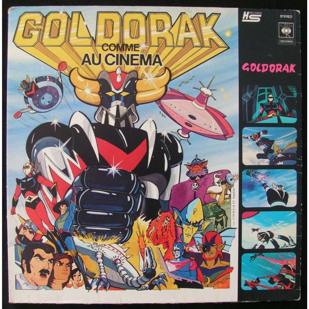 various goldorak comme au cinema
