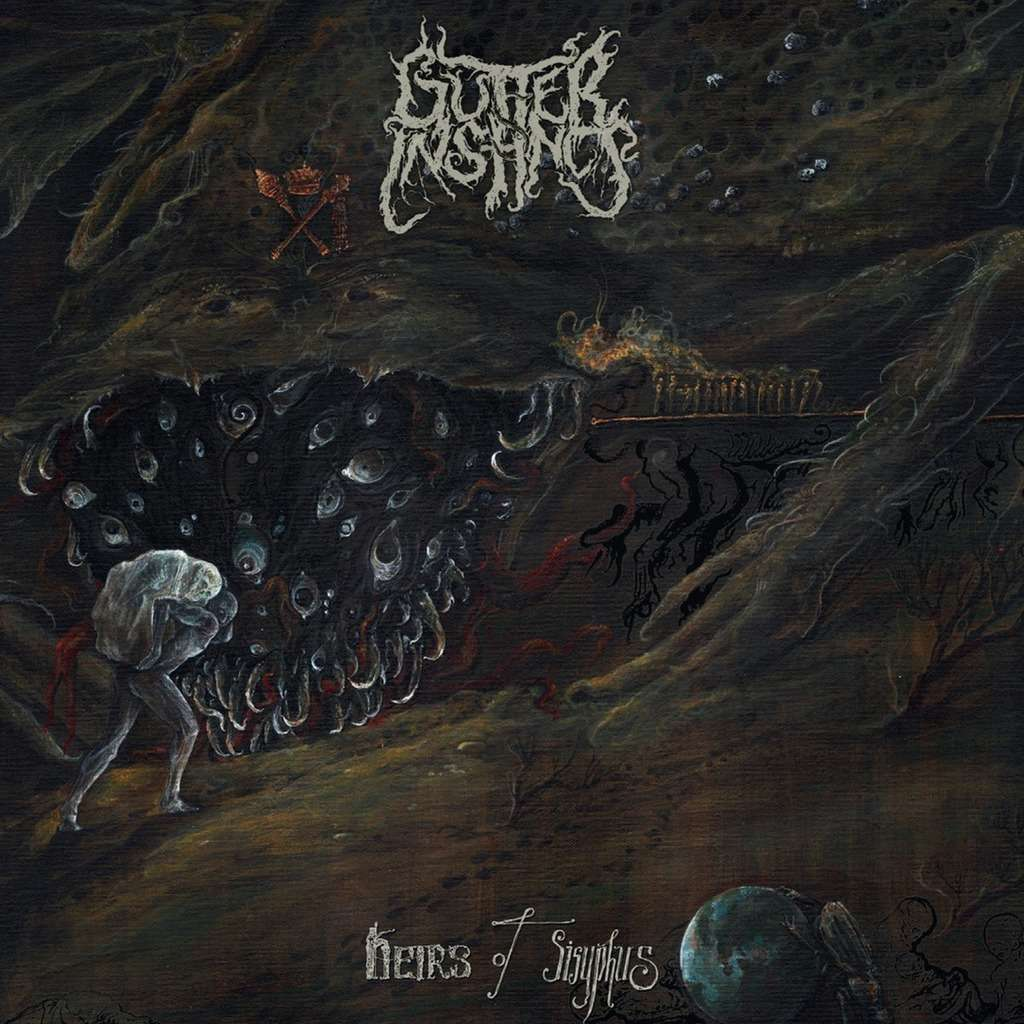 GUTTER INSTINCT Heirs Of Sisyphus. Black Vinyl