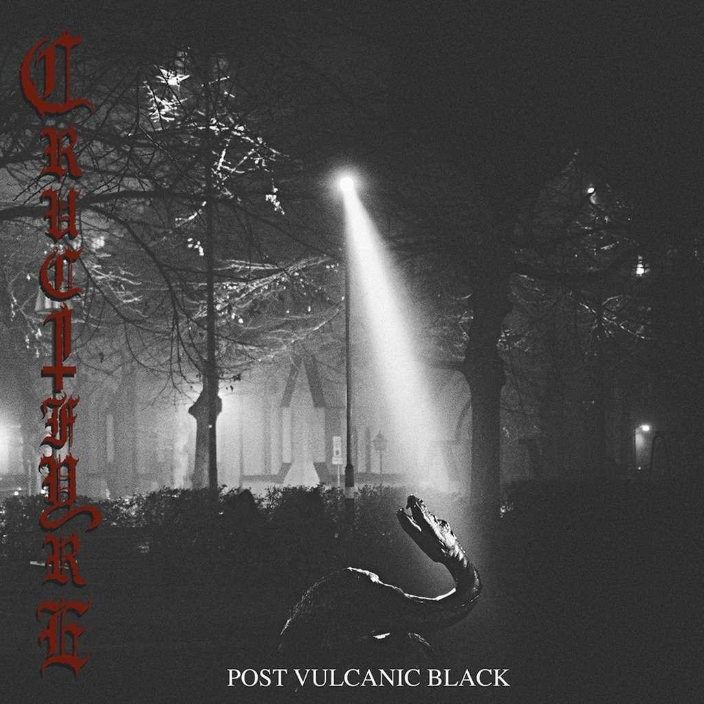 CRUCIFYRE Post Vulcanic Black. Black Vinyl