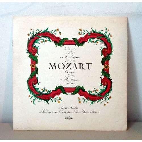 ANNIE FISCHER & SIR ADRIAN BOULT MOZART Concerto n°23 & 20