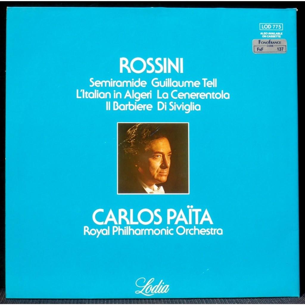 Rossini Païta Ouvertures LP & CV NM Rossini Païta Ouvertures LP & CV NM