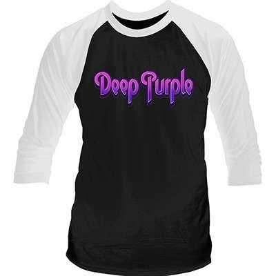 DEEP PURPLE purple logo LONGSLEEVE