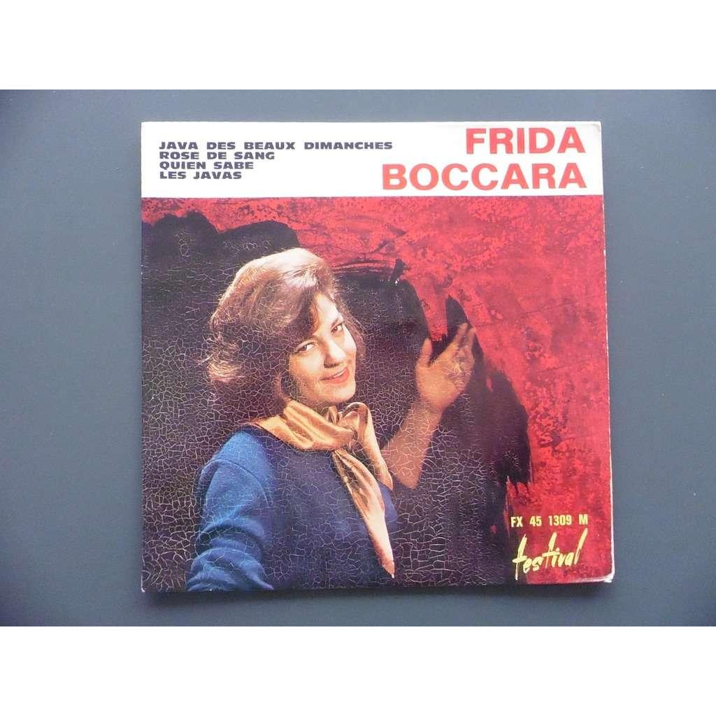 FRIDA BOCCARA ROSE DE SANG + 3