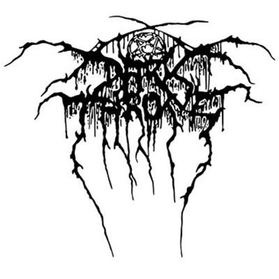 DARKTHRONE logo LONGSLEEVE