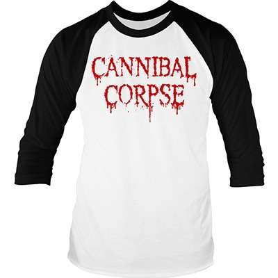 CANNIBAL CORPSE dripping logo LONGSLEEVE