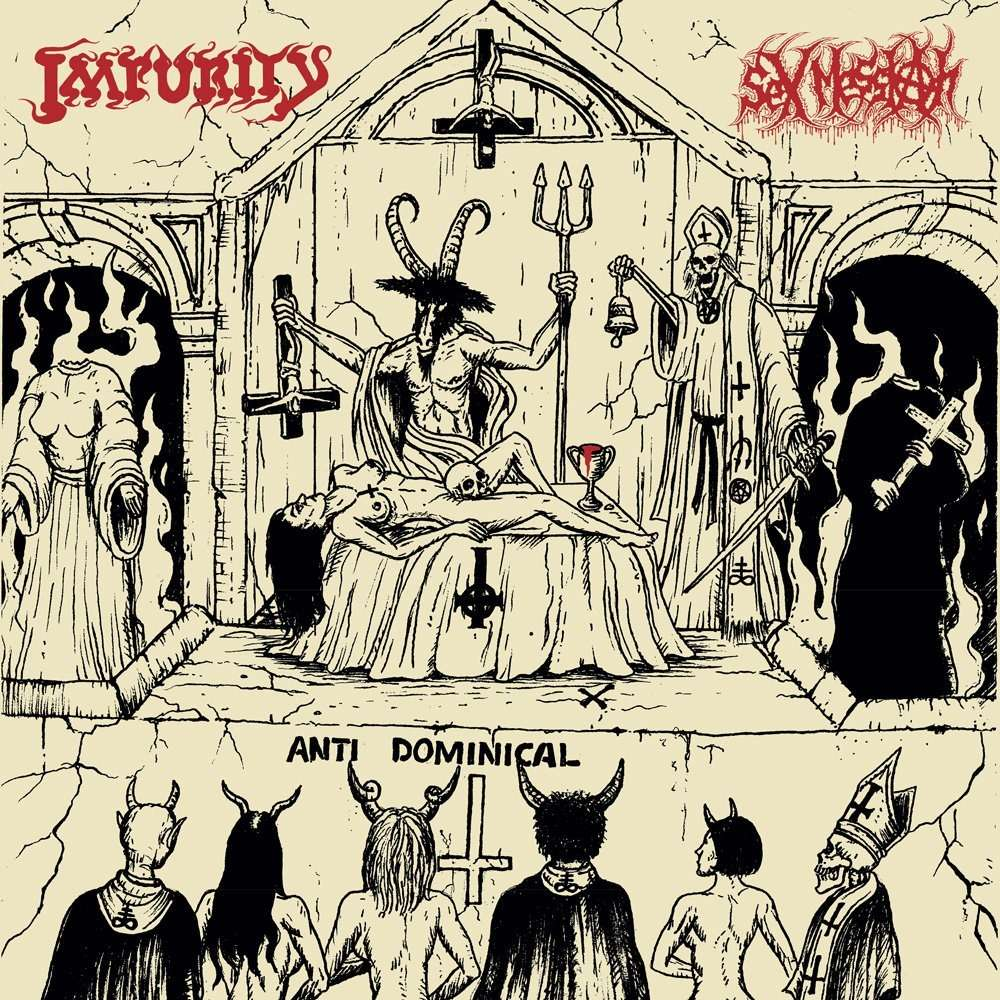 IMPURITY / SEX MESSIAH Vomiting Blasphemies Over The World