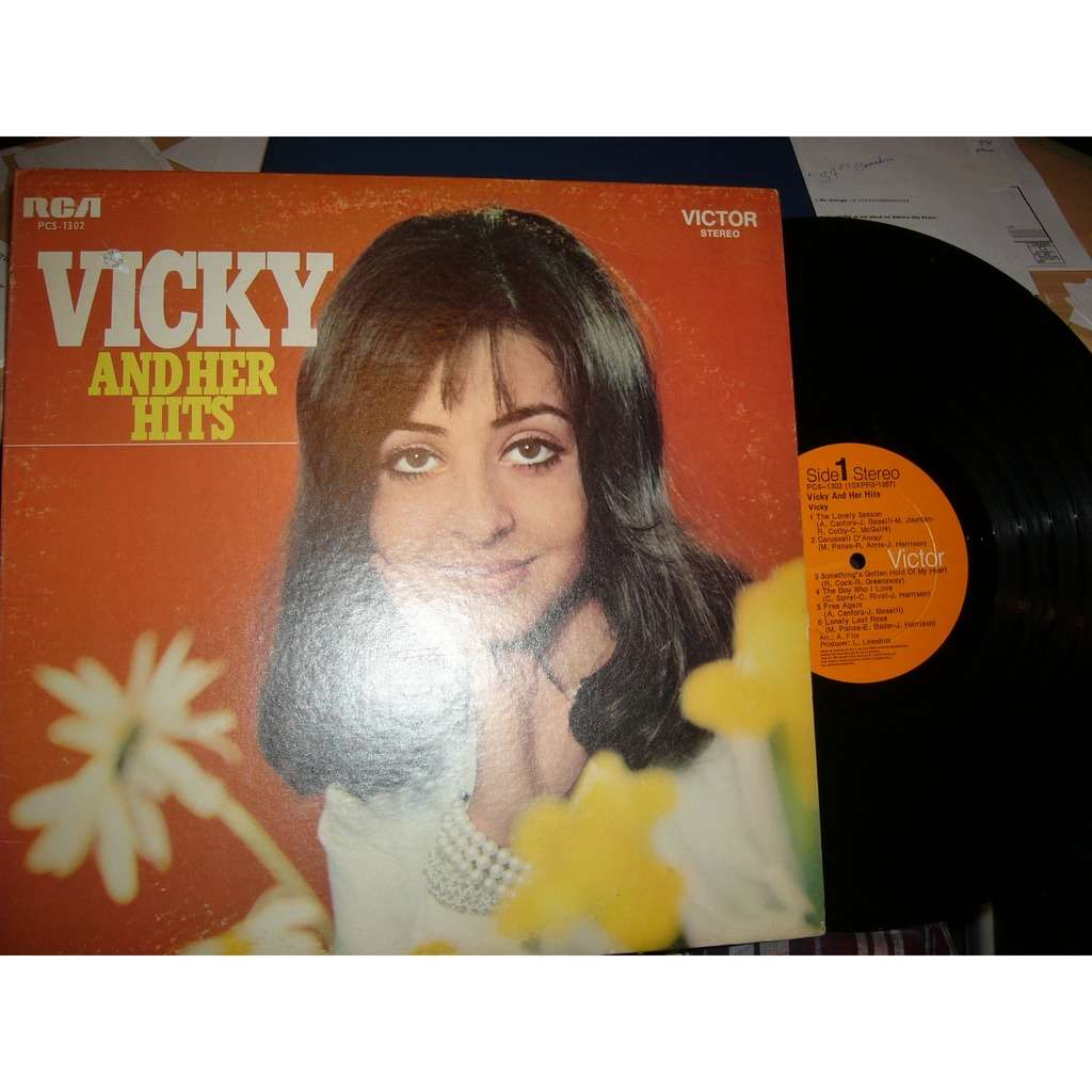 vicky leandros Vicky and her hits pressage canadien very very very rare