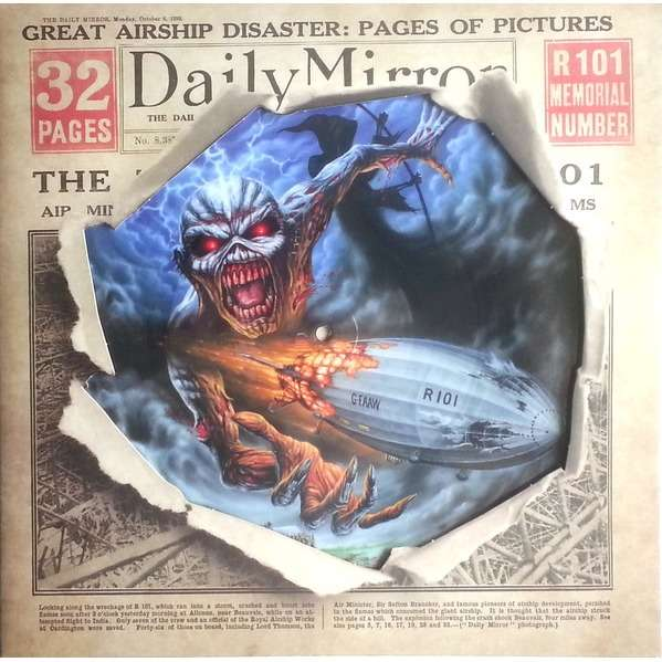 Iron Maiden Empire Of The Clouds Picture Disc