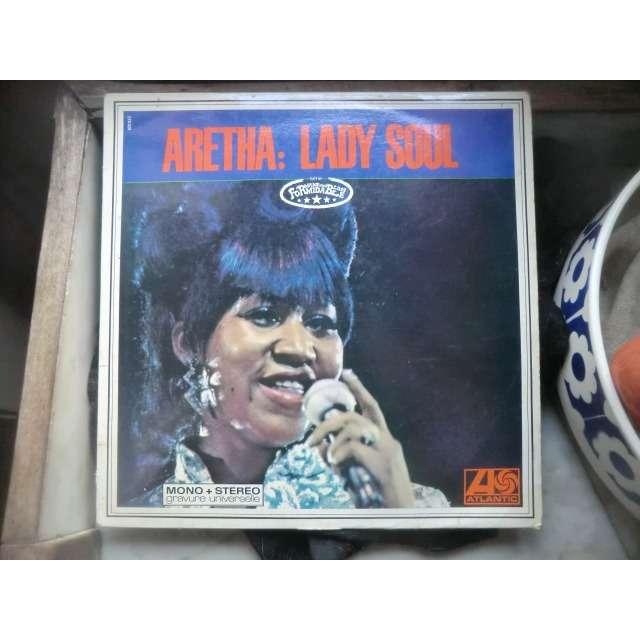 Aretha FRANKLIN Lady Soul (rare 1° French press - 1968 - Fleepback cover - Purple & red label - BIEM)