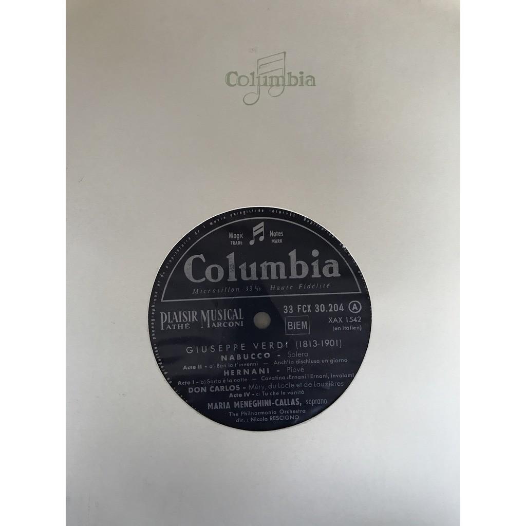 MARIA MENEGHINI CALLAS GRANDE NUIT DE L'OPERA 19 DECEMBRE 1958