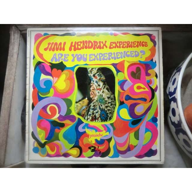 Jimi HENDRIX EXPERIENCE (The) Are you experienced ? (rare original first LP in French press - Fleepback cover - BIEM - 1967)