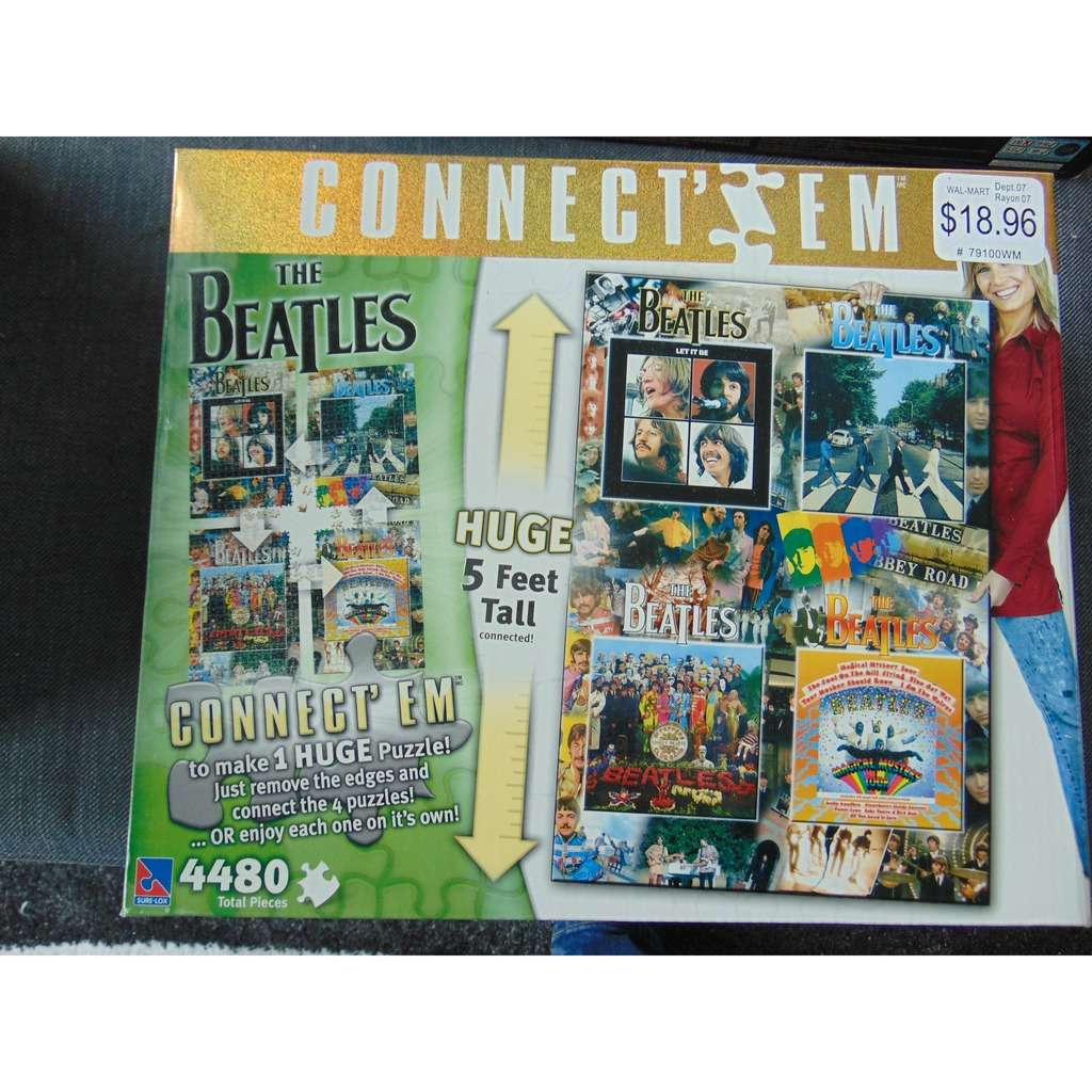 the beatles Beatles Connect 'em Puzzle